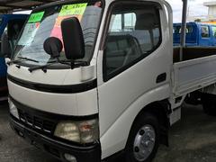 沖縄の中古車 トヨタ ダイナトラック 車両価格 122万円 リ済込 平成16年 16.6万K ホワイト