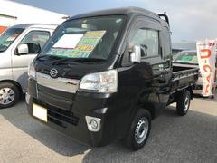 沖縄の中古車 ダイハツ ハイゼットトラック 車両価格 113万円 リ済別 平成28年 0.5万K ブラック