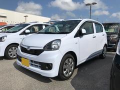 沖縄の中古車 ダイハツ ミライース 車両価格 95万円 リ済別 平成28年 0.4万K ライトブルー