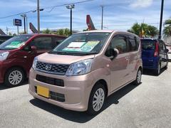 沖縄の中古車 ダイハツ ムーヴ 車両価格 111万円 リ済別 平成28年 0.4万K ピンク