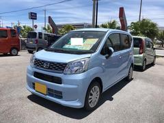 沖縄の中古車 ダイハツ ムーヴ 車両価格 116万円 リ済別 平成28年 5K ブルー