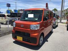 沖縄の中古車 ダイハツ ハイゼットキャディー 車両価格 119万円 リ済別 平成28年 5K オレンジ