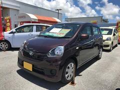 沖縄の中古車 ダイハツ ミライース 車両価格 97万円 リ済別 平成28年 0.4万K ブラウン