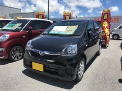 沖縄の中古車 ダイハツ ミライース 車両価格 102万円 リ済別 平成28年 5K ブラック