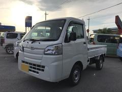 沖縄の中古車 ダイハツ ハイゼットトラック 車両価格 85万円 リ済別 平成27年 0.4万K ホワイト