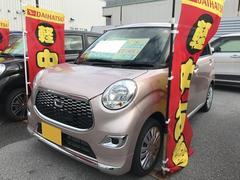 沖縄の中古車 ダイハツ キャスト 車両価格 115万円 リ済別 平成27年 0.5万K ピンク