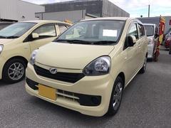 沖縄の中古車 ダイハツ ミライース 車両価格 80万円 リ済別 平成27年 1.7万K ライトイエロー