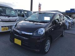 沖縄の中古車 ダイハツ ミライース 車両価格 99万円 リ済別 平成28年 0.4万K ブラウン