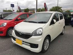 沖縄の中古車 ダイハツ ミライース 車両価格 105万円 リ済別 平成27年 0.3万K ホワイト