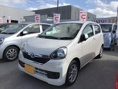 沖縄の中古車 ダイハツ ミライース 車両価格 99万円 リ済別 平成28年 0.8万K パールホワイト