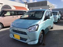 沖縄の中古車 ダイハツ ミライース 車両価格 95万円 リ済別 平成29年 0.1万K ライトブルーM
