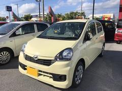 沖縄の中古車 ダイハツ ミライース 車両価格 89万円 リ済別 平成27年 5K ライトイエロー