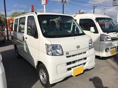 沖縄の中古車 ダイハツ ハイゼットカーゴ 車両価格 110万円 リ済別 平成29年 348K ホワイト