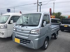 沖縄の中古車 ダイハツ ハイゼットトラック 車両価格 98万円 リ済別 平成29年 5K シルバー