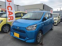沖縄の中古車 ダイハツ ミライース 車両価格 109万円 リ済別 平成29年 0.4万K ブルーM