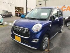 沖縄の中古車 ダイハツ キャスト 車両価格 120万円 リ済別 平成28年 0.7万K ブルー