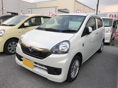 沖縄の中古車 ダイハツ ミライース 車両価格 95万円 リ済別 平成28年 0.4万K パールホワイト
