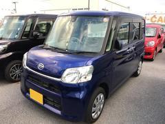 沖縄の中古車 ダイハツ タント 車両価格 137万円 リ済別 平成28年 0.6万K ブルー