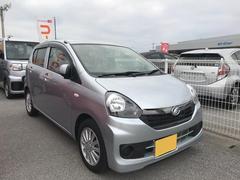 沖縄の中古車 ダイハツ ミライース 車両価格 86万円 リ済別 平成28年 0.6万K シルバー