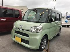 沖縄の中古車 ダイハツ タント 車両価格 137万円 リ済別 平成28年 0.5万K グリーン