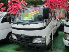 沖縄の中古車 トヨタ ダイナトラック 車両価格 119万円 リ済込 平成20年 22.2万K ホワイト