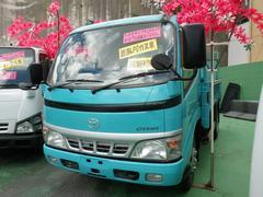沖縄の中古車 トヨタ ダイナトラック 車両価格 99万円 リ済込 平成15年 8.2万K グリーンM