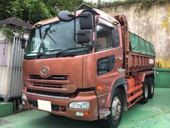 沖縄の中古車 日産ディーゼル クオン 車両価格 520万円 リ済込 平成20年 49.4万K ブラウンM