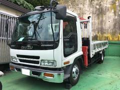 沖縄の中古車 いすゞ フォワード 車両価格 290万円 リ済込 平成16年 12.7万K ホワイト
