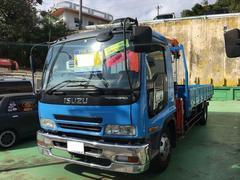 沖縄の中古車 いすゞ フォワード 車両価格 330万円 リ済込 平成12年 7.4万K ブルーM