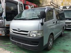 沖縄の中古車 トヨタ ハイエースバン 車両価格 119万円 リ済込 平成20年 20.5万K シルバー