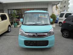 沖縄の中古車 スズキ スペーシア 車両価格 153万円 リ未 新車  グリーンM