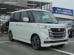 沖縄の中古車 スズキ スペーシアカスタムZ 車両価格 159万円 リ未 新車  パールホワイト