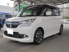 沖縄の中古車 スズキ ソリオバンディット 車両価格 205万円 リ未 新車  パールホワイト