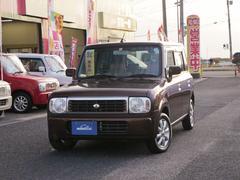 新潟県の中古車ならアルトラパン G エディション 純正CDMDデッキ 社外AW