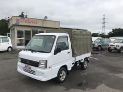 サンバートラックTBクリーン パワステ エアコン付き 4WD