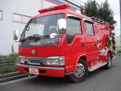 エルフトラックポンプ消防車