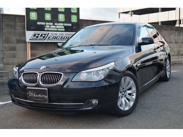 BMW 5シリーズ 530i ハイラインパッケージ 黒レザーシート...