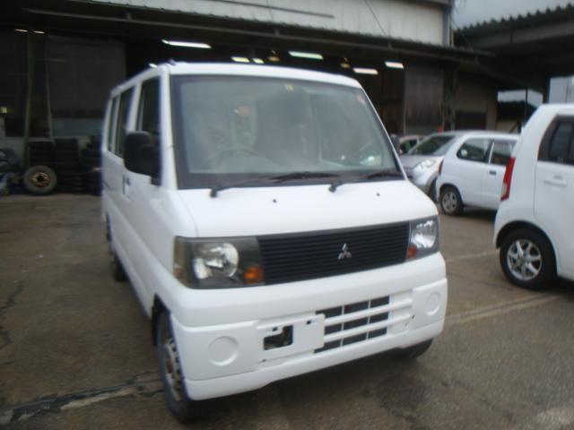 三菱 ミニキャブバン 4WD 純正ラジオ エアコン (車検整備付)