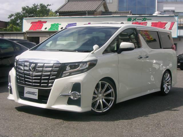 トヨタ 2.5SAパッケージ車高調仕様 20インチAW 2サンルーフ