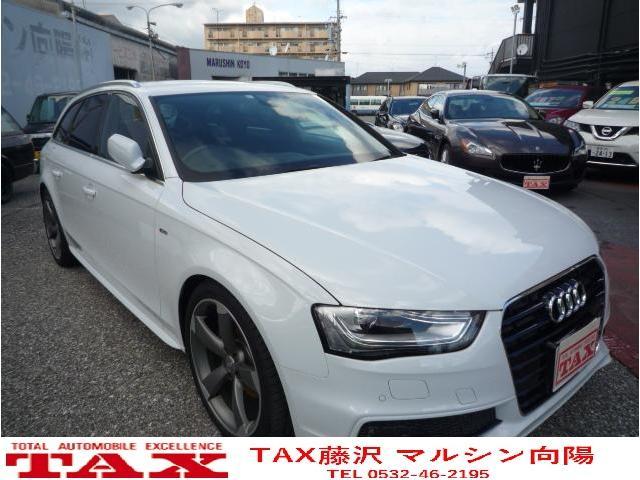 Audi A4 Avant S Line Plus 2014 Pearl White 20 711 Km Details