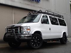 フォード E−150XLT OUTDOORpkg 黒革 フルフラットシート