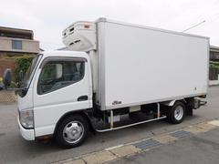 キャンター中温冷蔵冷凍車 格納パワーゲート 428x180x186