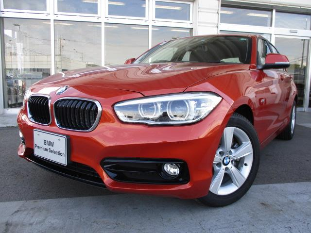 BMW 118iスポーツLCI衝突軽減ブレーキ3気筒 認定中古車