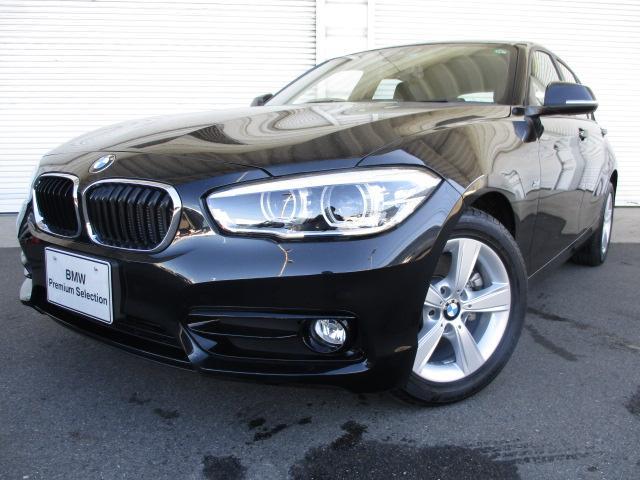 BMW 118iスポーツLCILEDヘッドライトデモカー 認定中古車