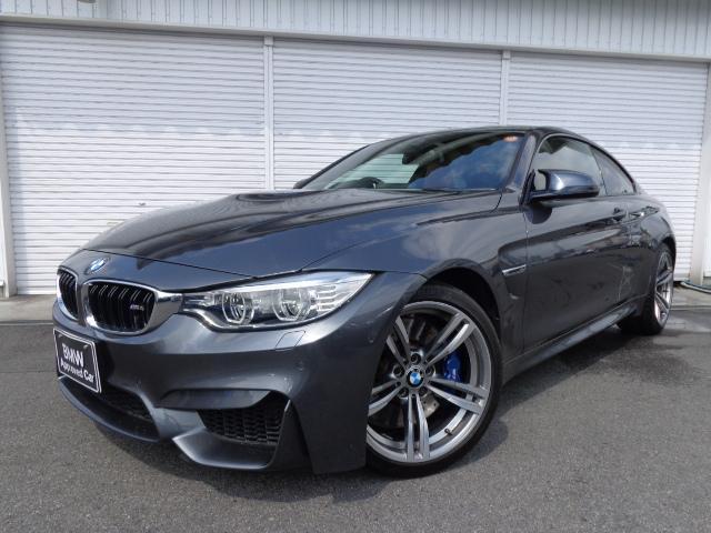 BMW M4クーペM-DCT赤革19AW1オナ禁煙認定中古車
