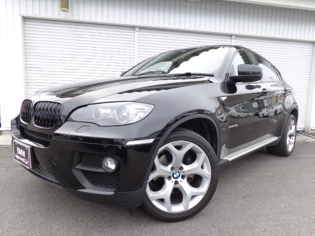 BMW X6 xDrive35i LCI黒革20AWガラスSR認定...
