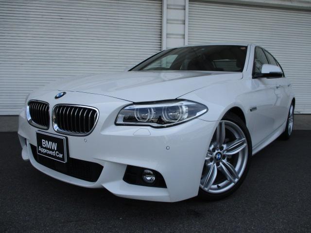 BMW 528i MスポーツLCI LEDヘッドライト認定中古車