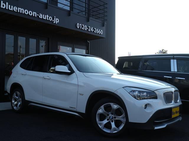BMW X1 sDrive 18iディーラー車HDDナビHIDライ...