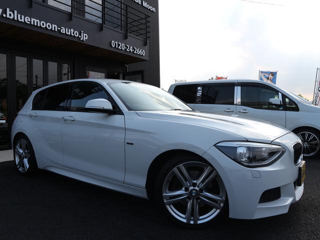 BMW 1シリーズ 116i MスポーツワンオーナーHDDワイドナ...
