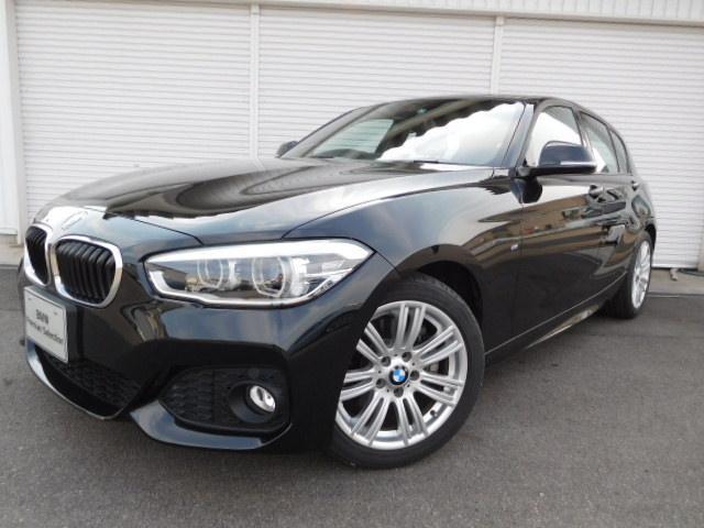 BMW 1シリーズ 118i Mスポーツ17AWデモカー禁煙認定中...